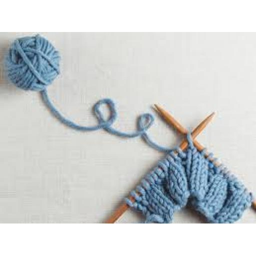 Beginner knitting 28th of Jan and 11th of Feb 10.30 till 12.00