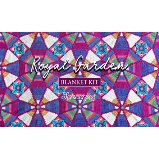 Royal Garden blanket CAL kit