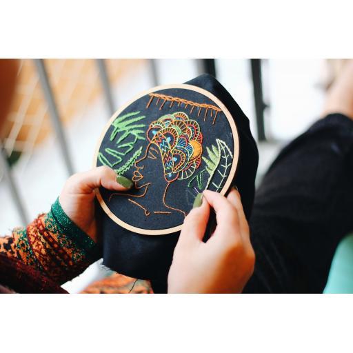 Beginner Embroidery Sunday 3rd of October 11am till 2pm